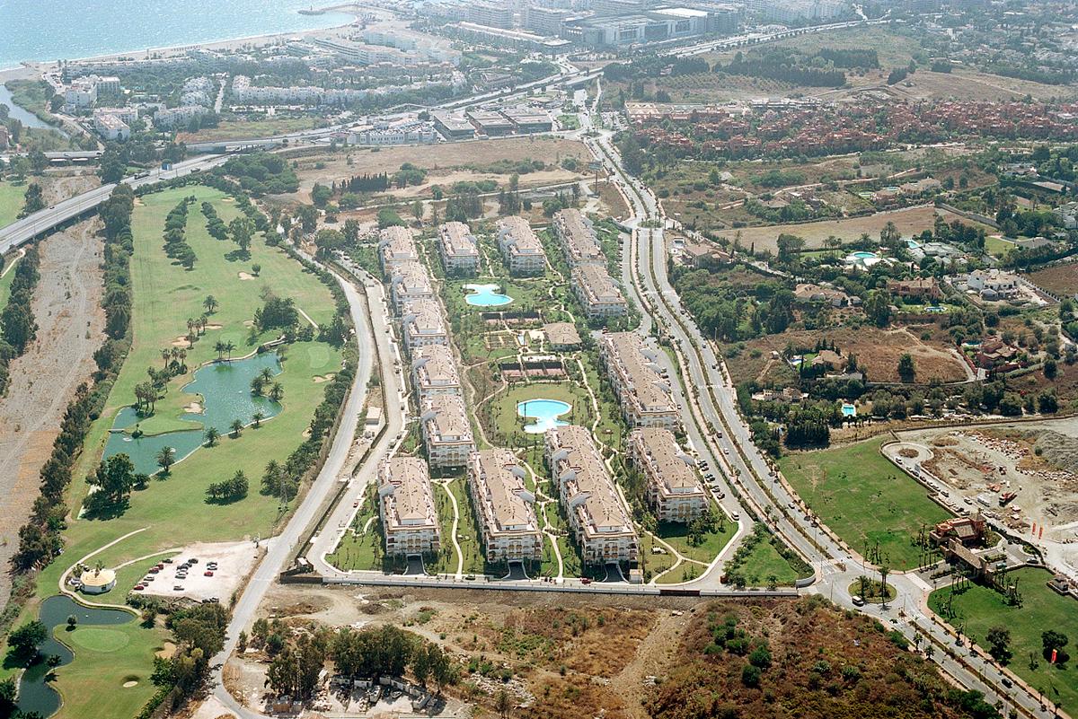 Promoción obra nueva 800 viviendas Marbella, Málaga